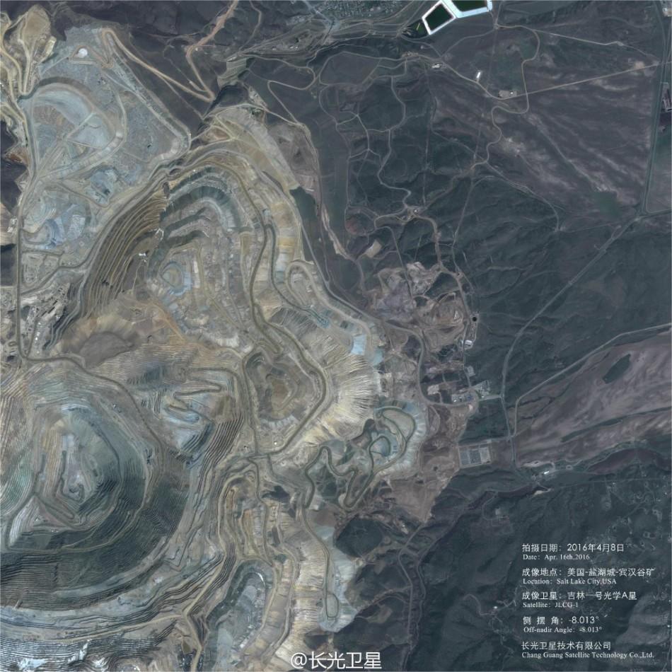 中国の衛星が撮影 米国の海軍造船所