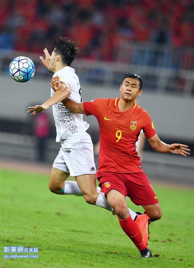 ワールドカップ・アジア予選:中国VSイラン