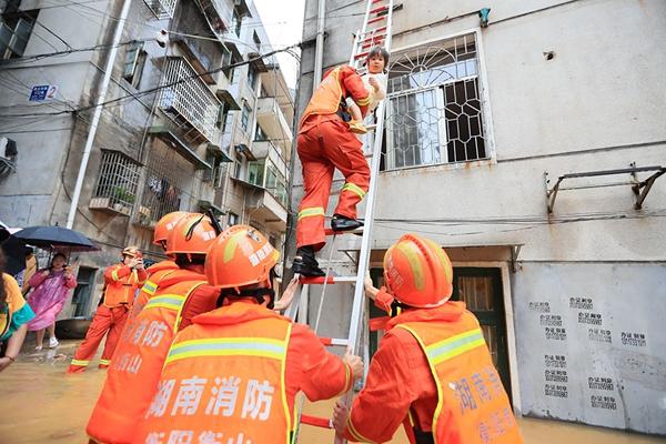 中国南部で大雨続き 7.7万人が避難